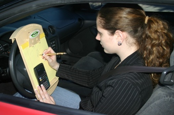 Wheelboard® Steering Wheel Clipboard